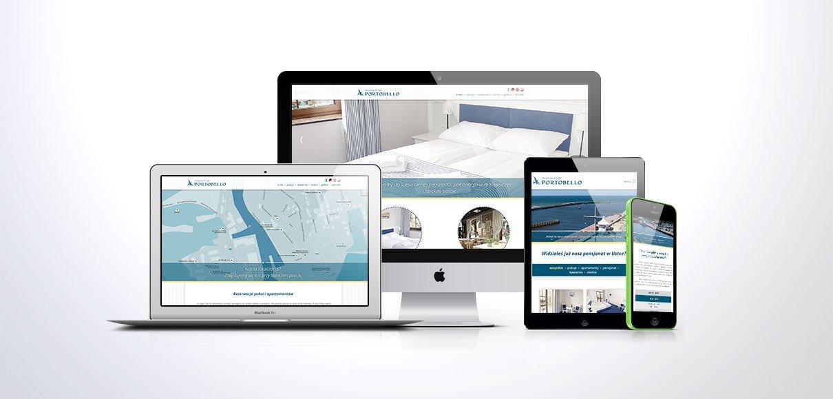 Responsywna strona internetowa z systemem CMS dla Portobello