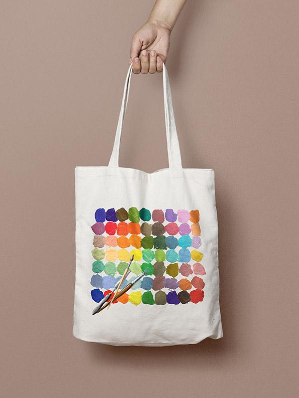 Projekt torby bawełnianej Cotton Barons